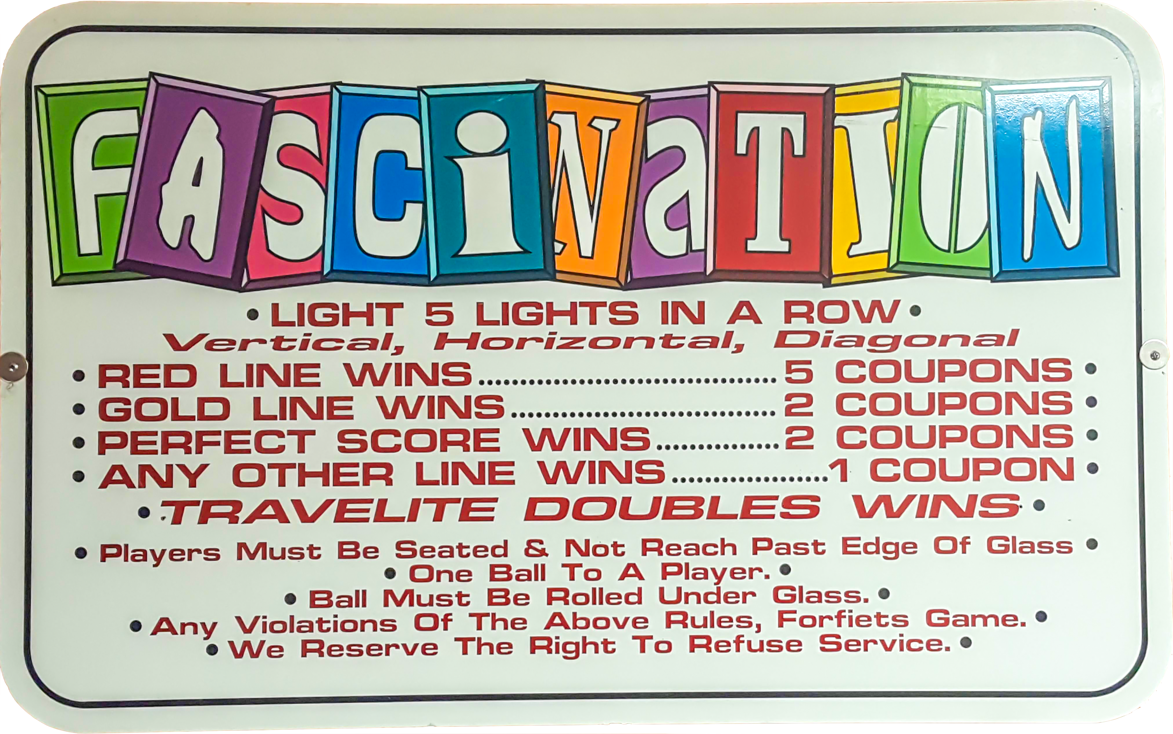 Fascination Sign