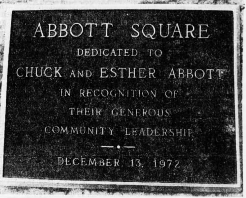 Abbott Plaque