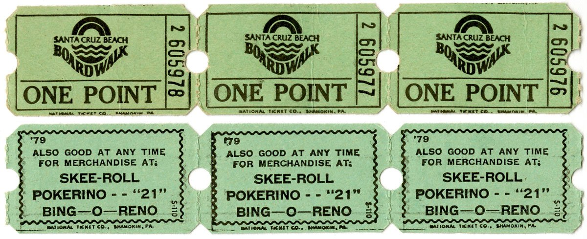 Skee Roll Tickets